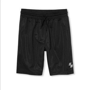 NWT PLACE Boys Black Sports Gym Shorts S (5/6)
